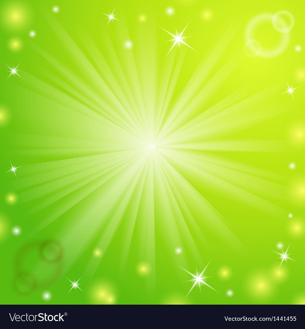 Abstract Magic Light Green Background Royalty Free Vector