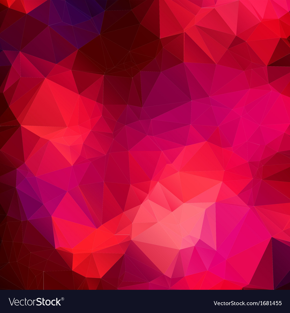 Pink purple abstract background polygon