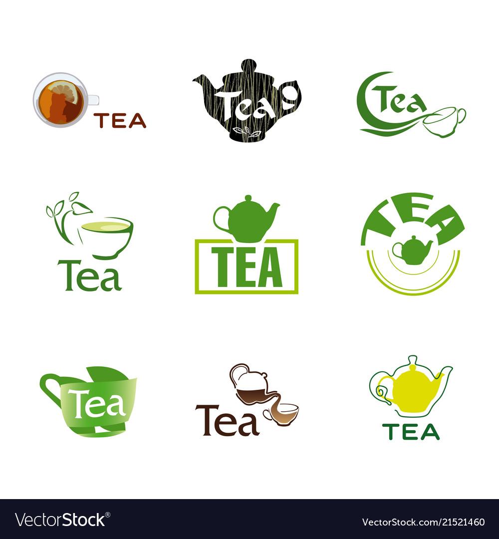 Set logo tea
