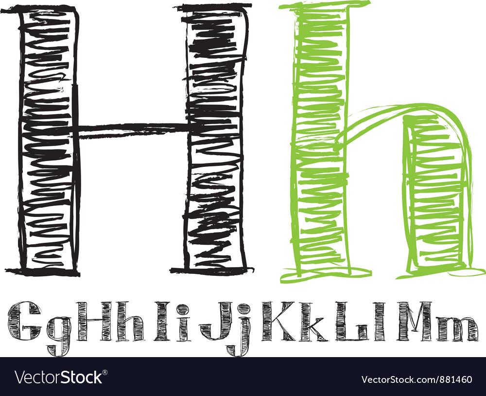 Sketch Alphabet New 02