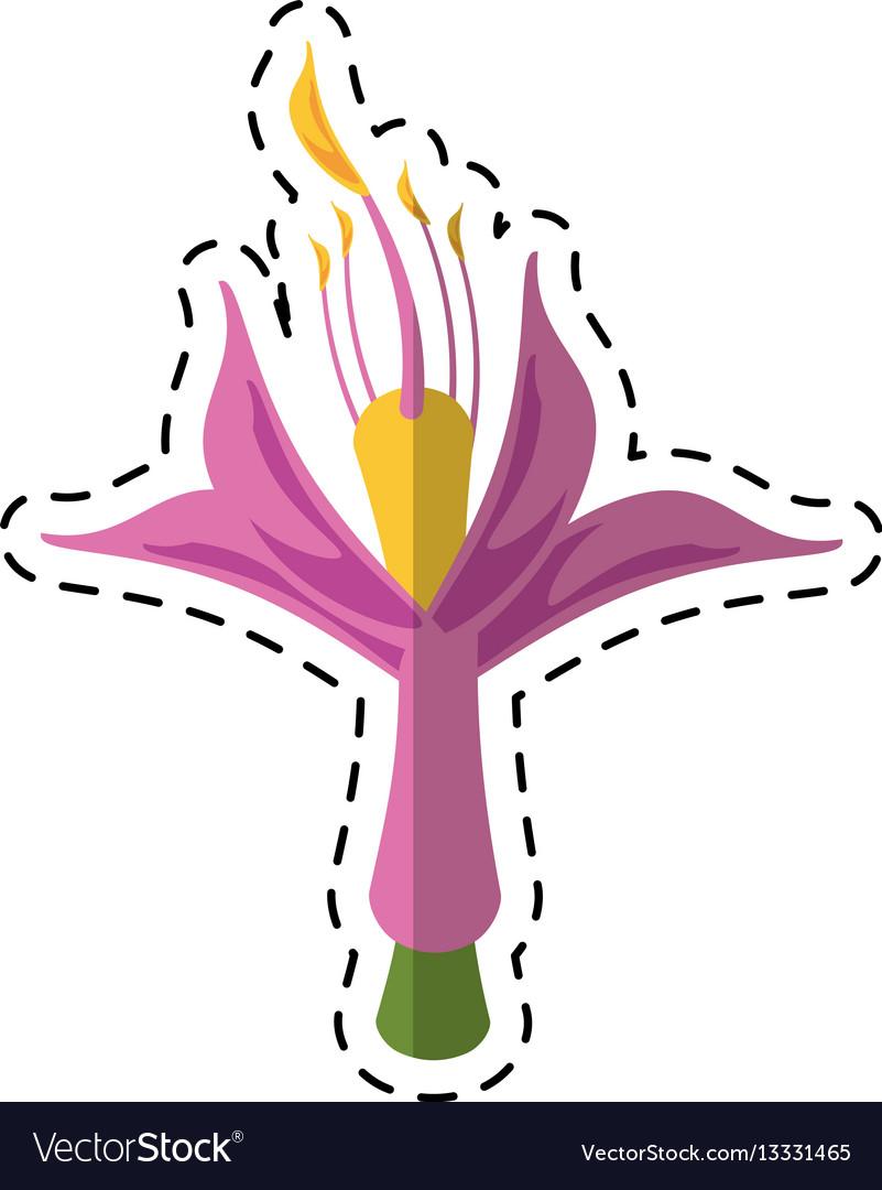 Cartoon flower petal natural icon