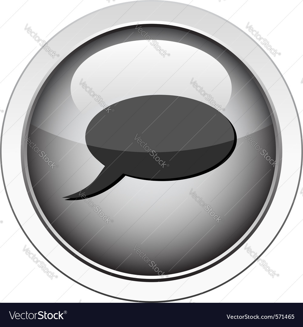 Comment icon vector image
