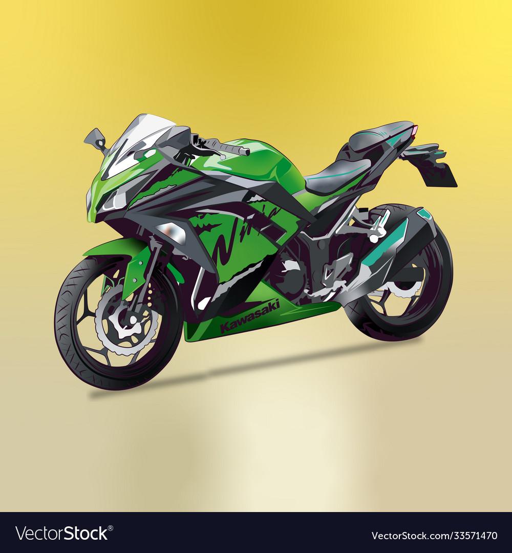 Bike kawasaki ninja 300