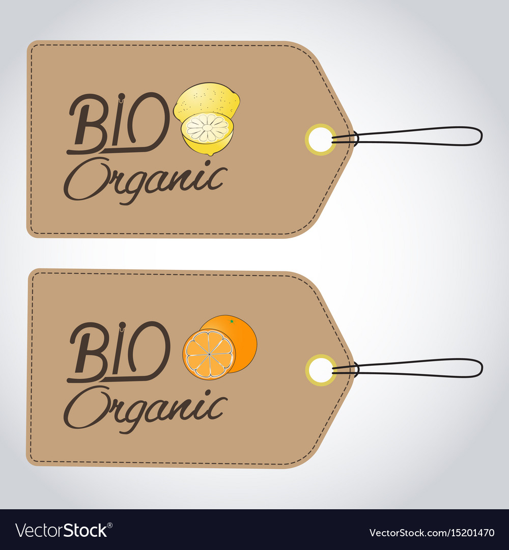 Bio organics labels