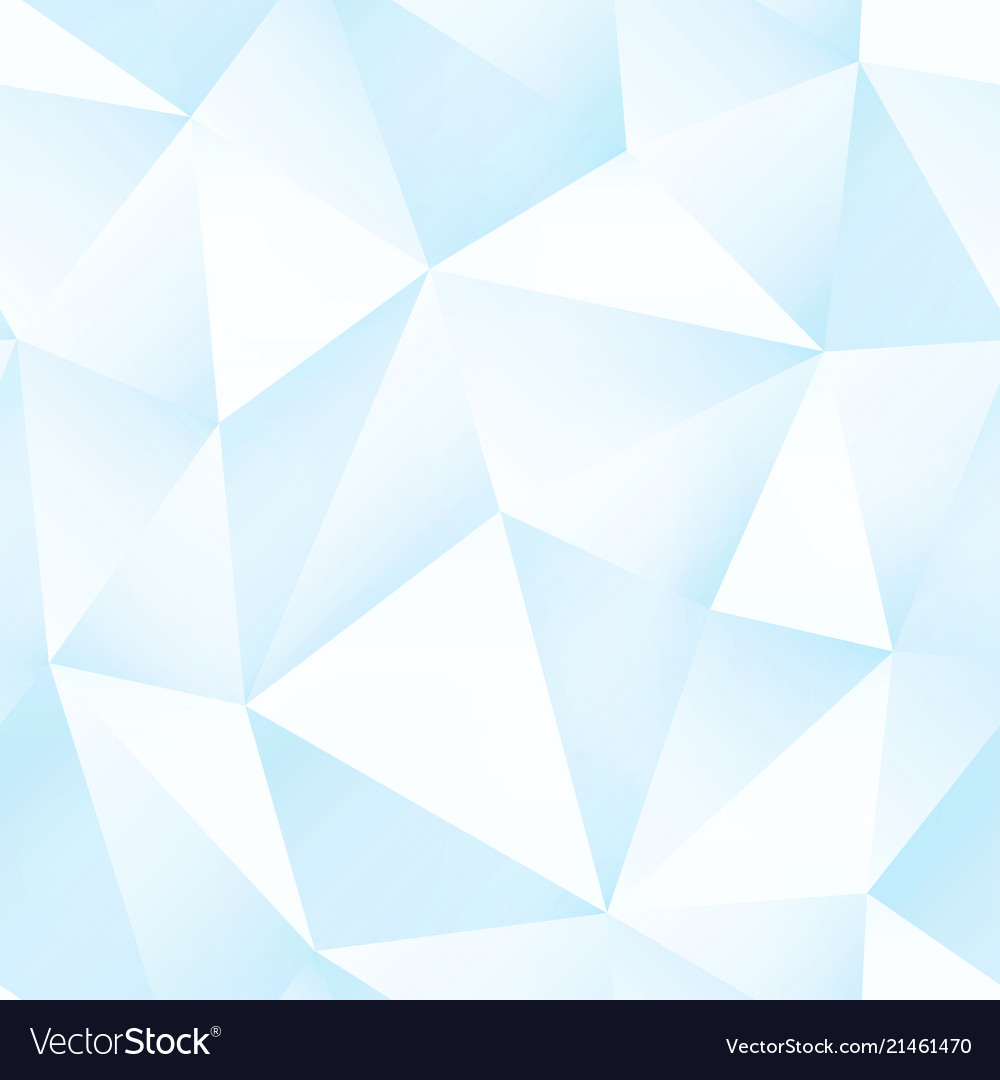Ice color triangle pattern