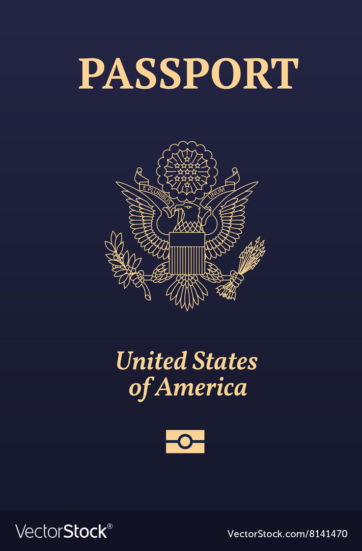 Us passport royalty free vector image vectorstock us passport vector image stopboris Image collections