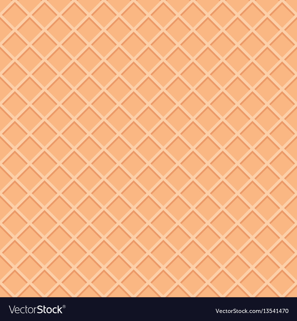 Wafer seamless pattern background ice cream cone vector image maxwellsz