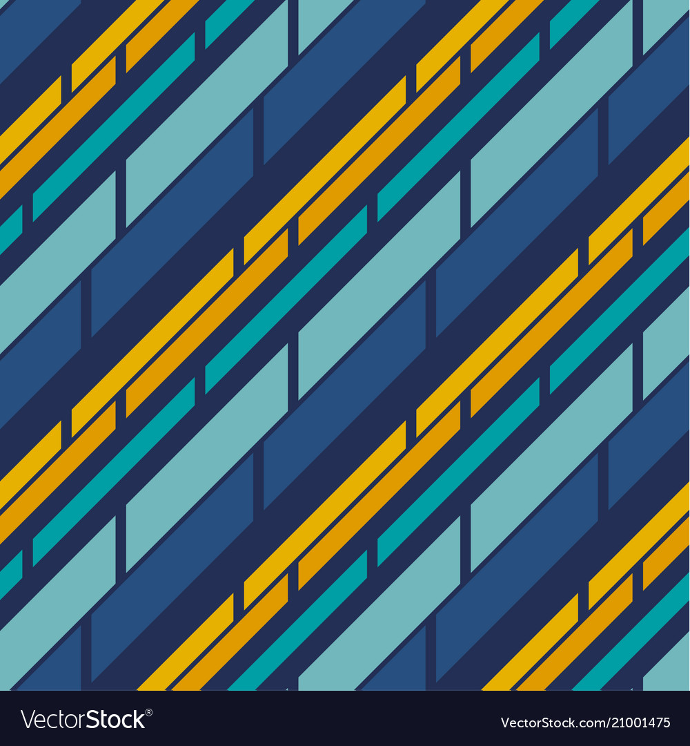 Retro style stripe pattern seamless pattern