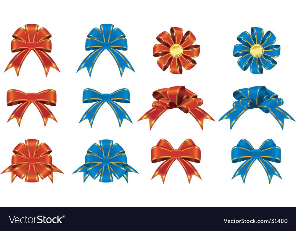 Bows and ribbons
