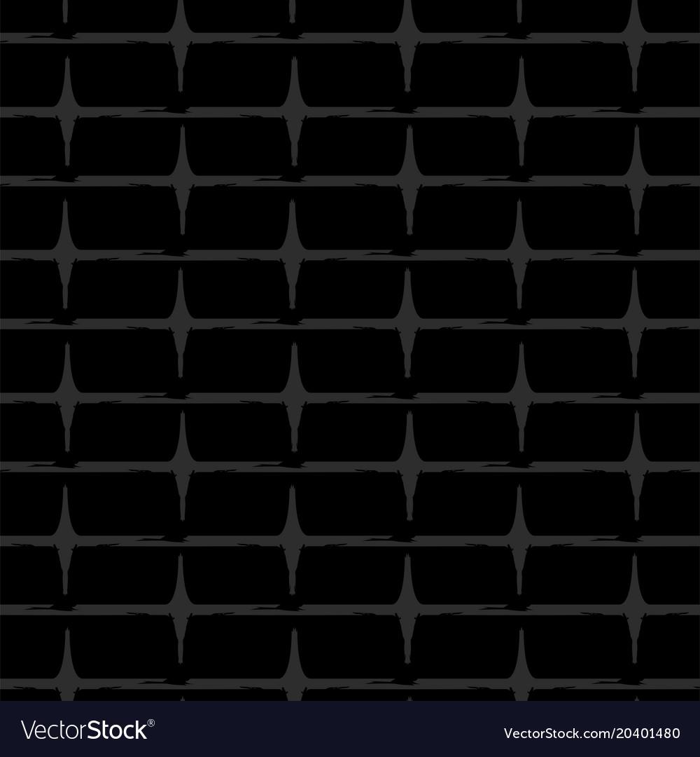 Design Of Seamless Wallpaper As A Black Brick Wall