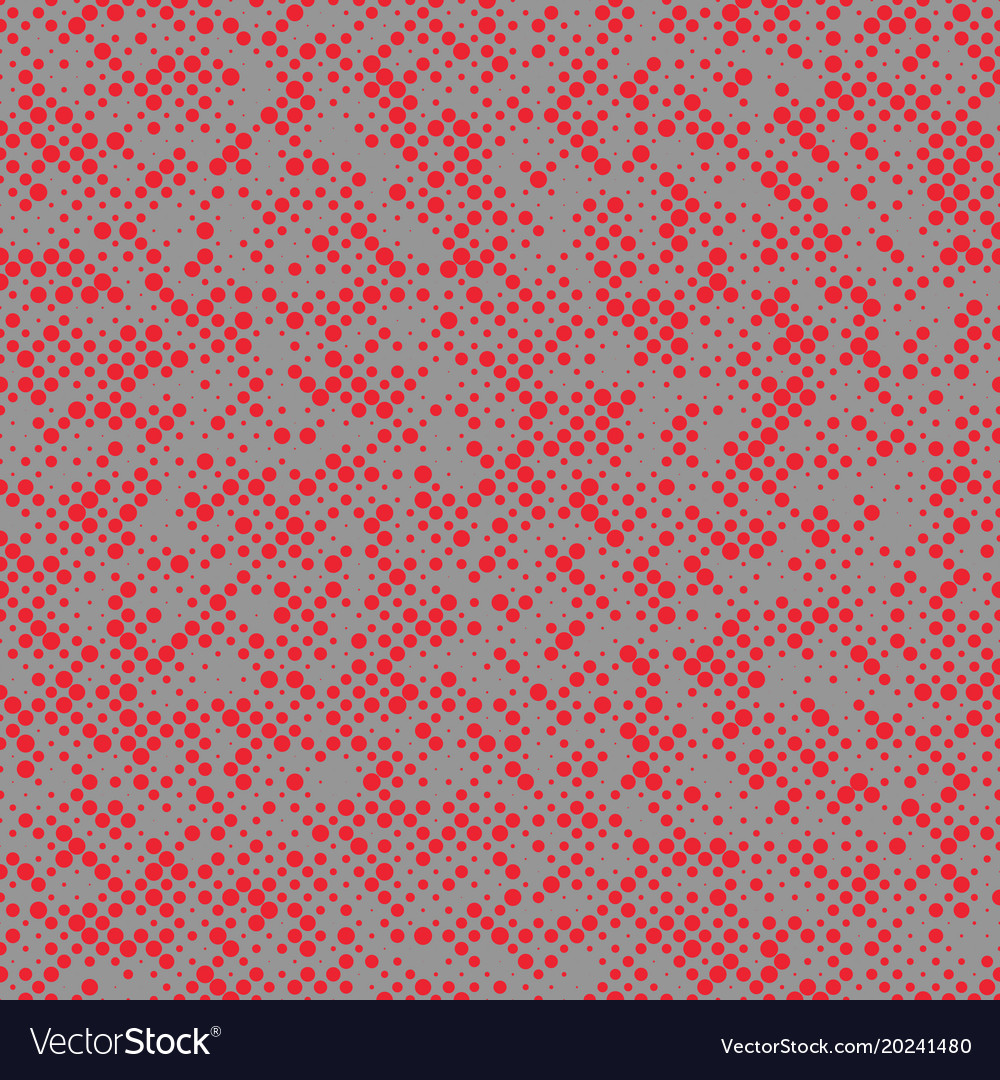 Halftone circle pattern background design vector image