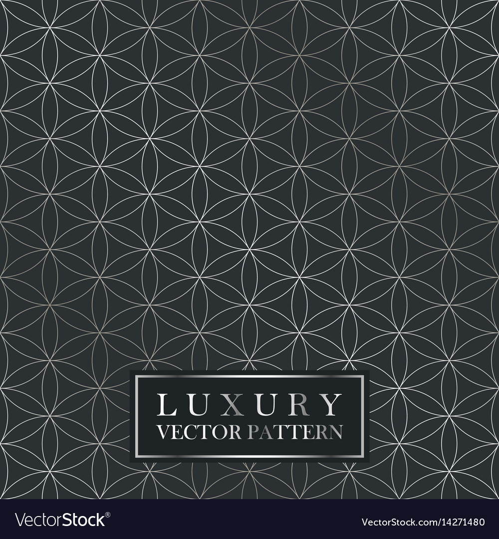 Luxury seamless ornate pattern - grid gradient