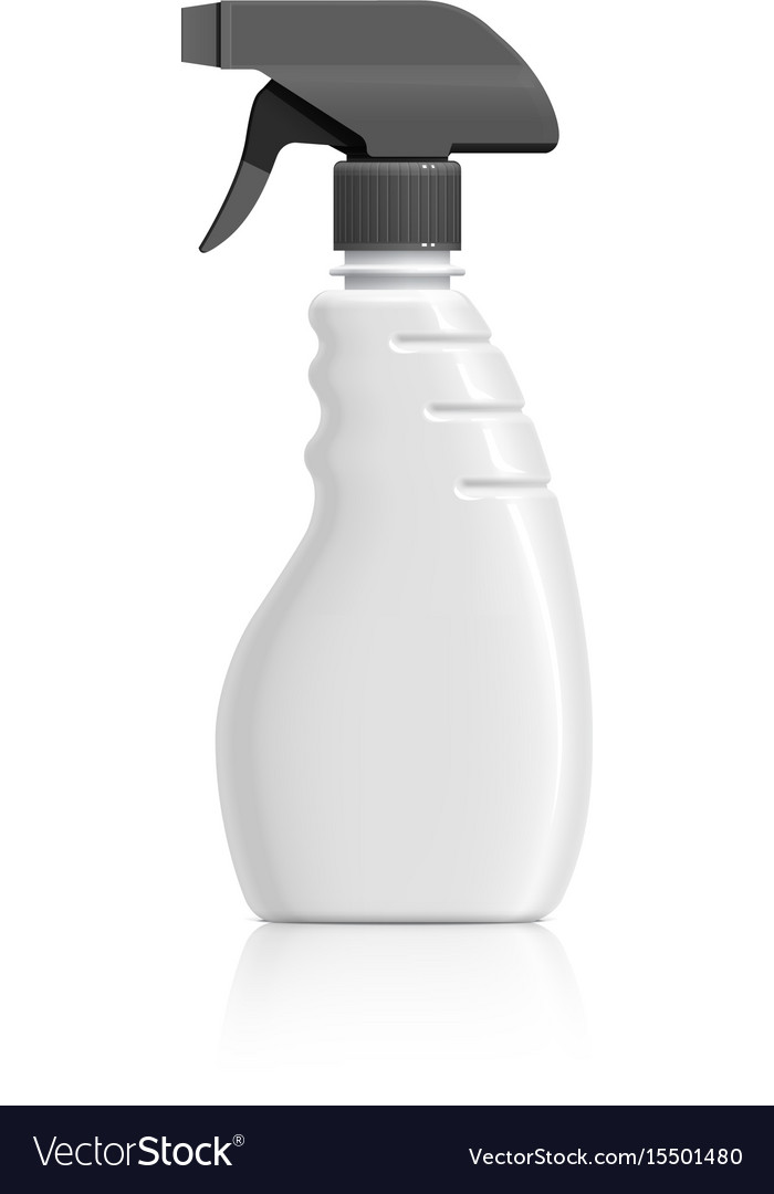 Plastic bottle can spray pistol