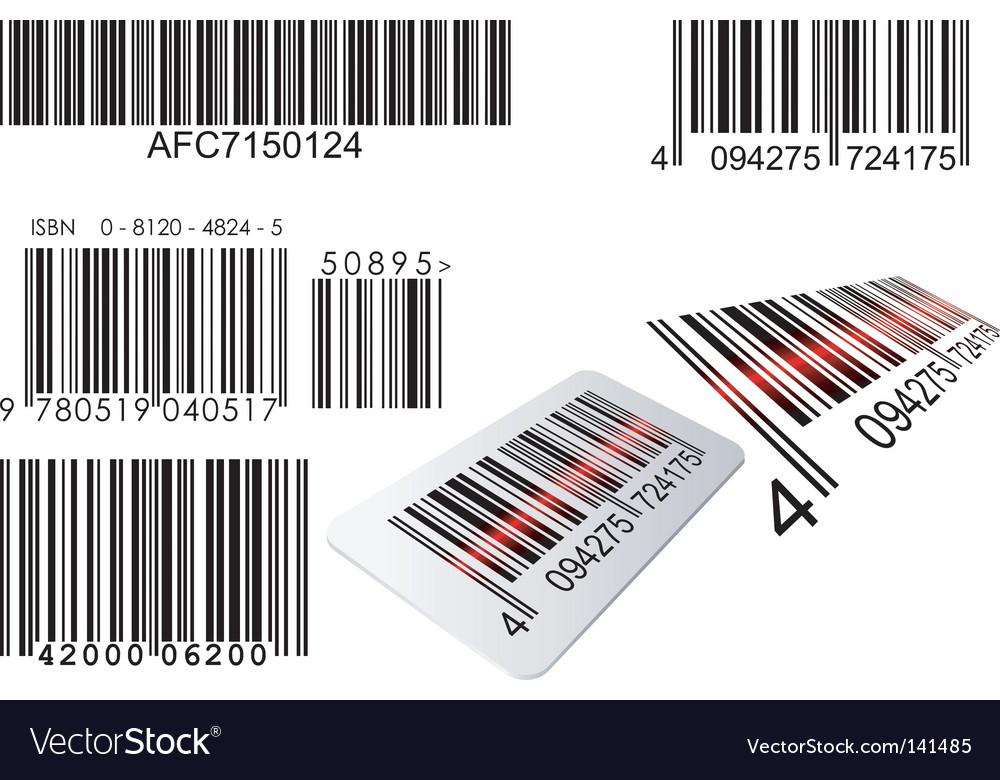 barcode vector. Barcode Vector