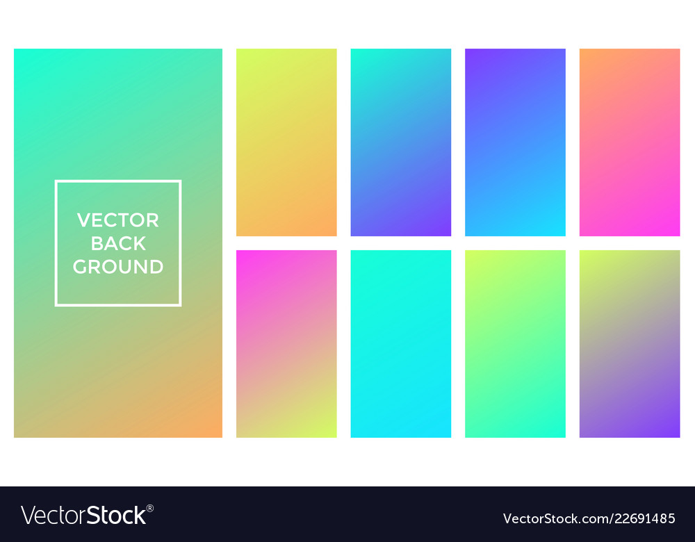 Colors gradient soft backgrounds