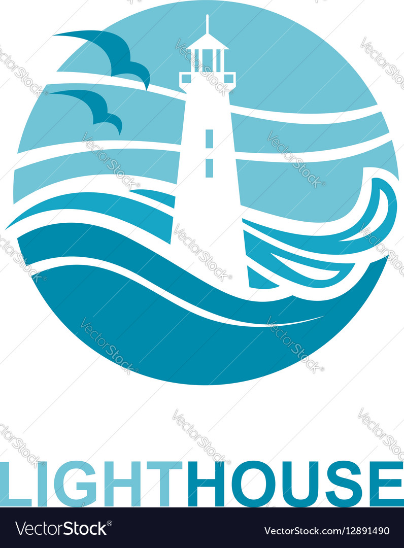 Lighthouse icon design