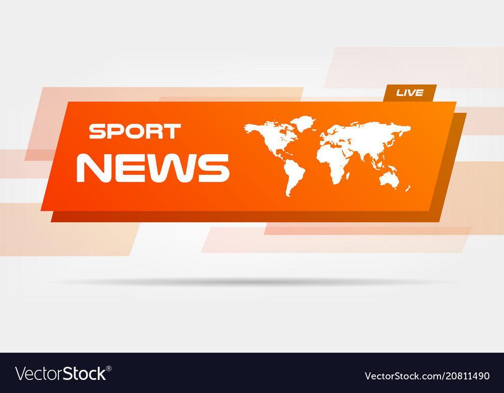 World news live banner on wavy lines background