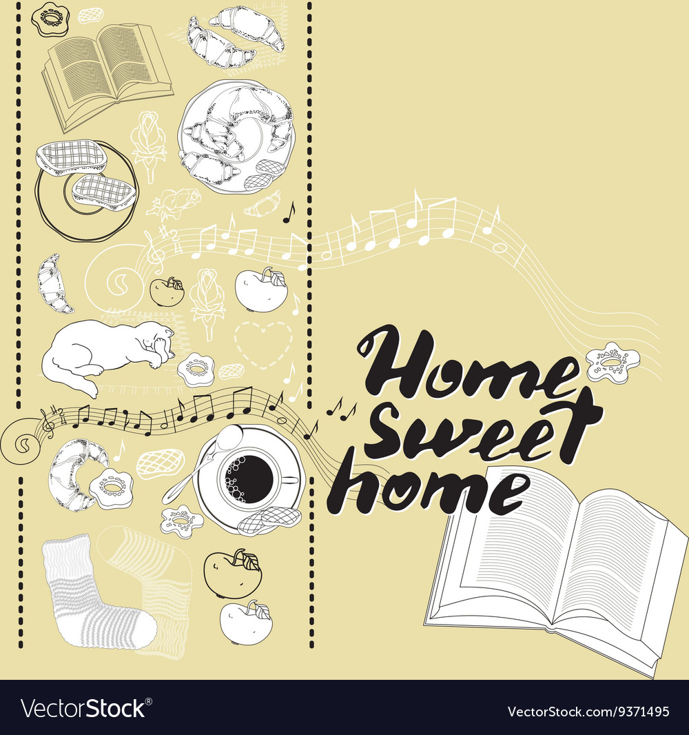 photograph about Home Sweet Home Printable named Calligraphic estimate printable expression Residence adorable
