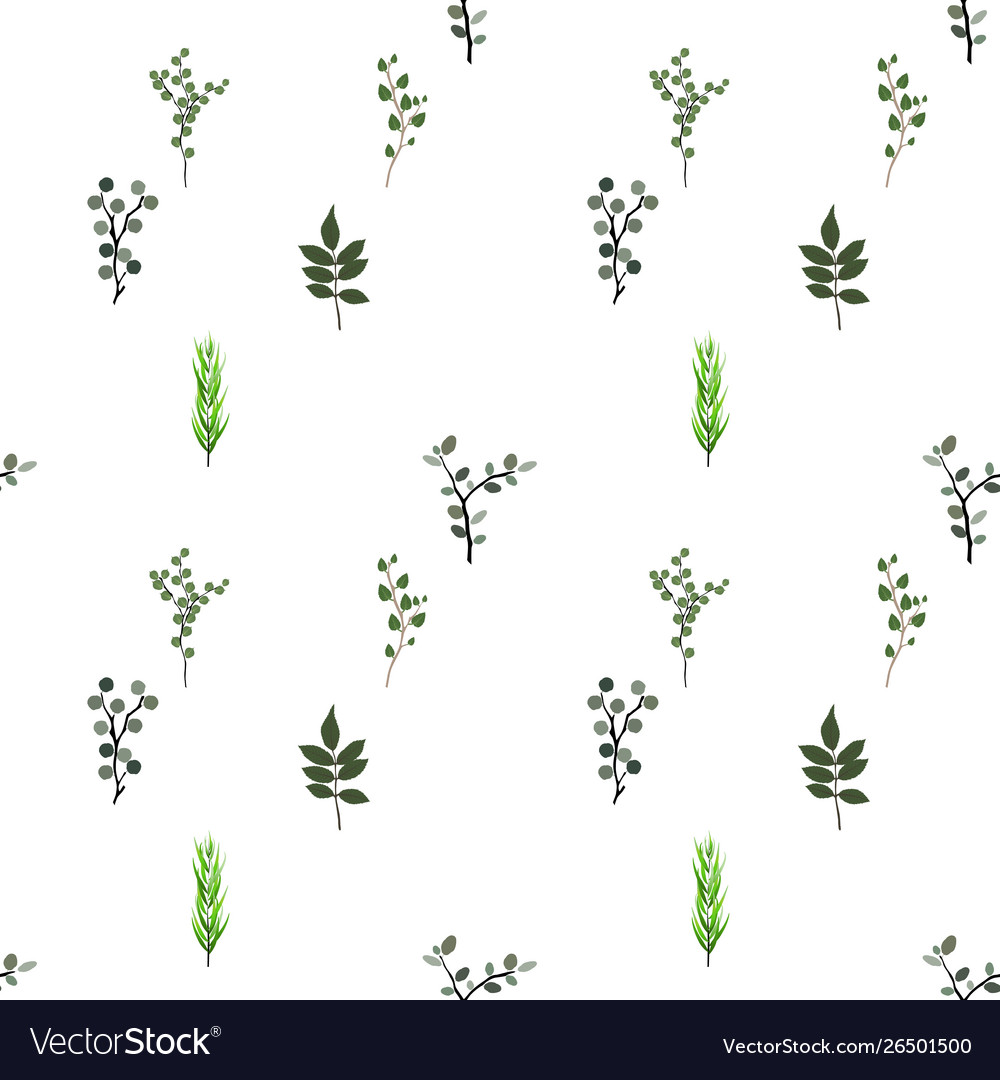 Seamless pattern tropical elements agonis