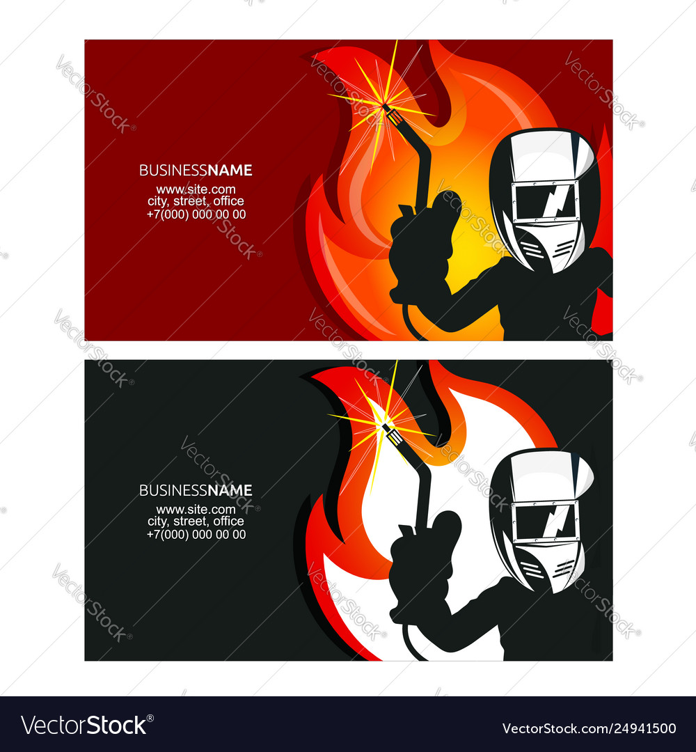 Business Card Design Royalty Free Vector