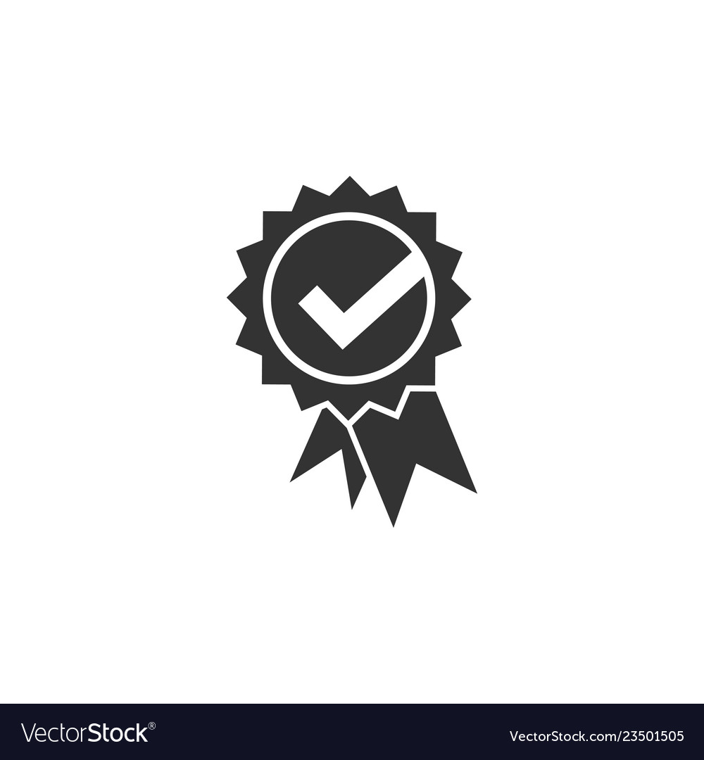Check approved icon graphic design template
