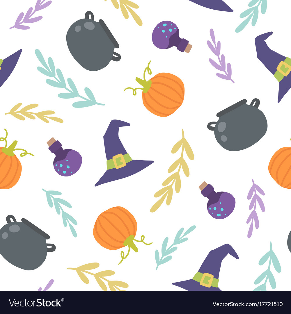 Cute Halloween Backgrounds.Cute Halloween Background Royalty Free Vector Image