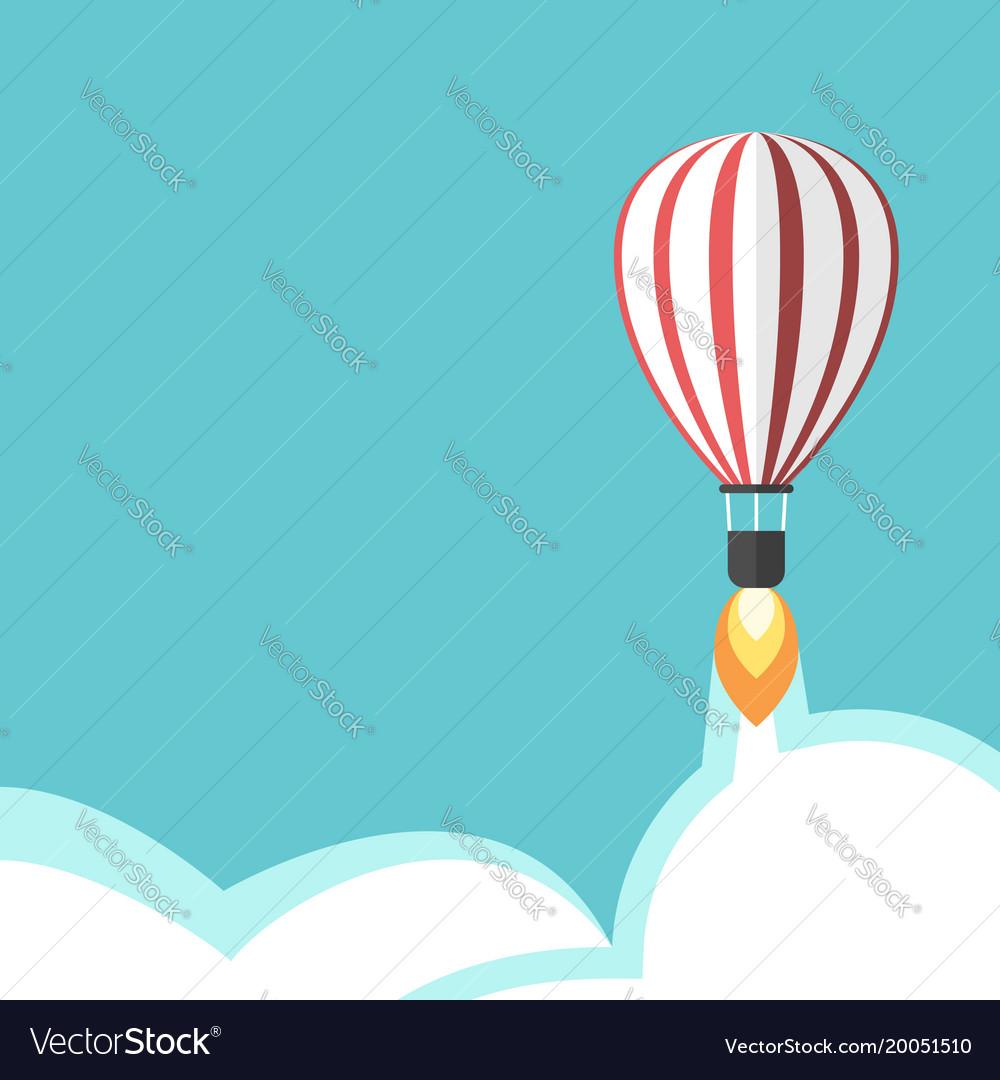 Jet propelled balloon