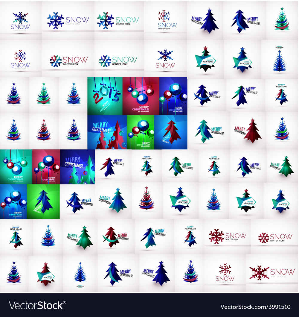 Mega collection of Christmas and winter design