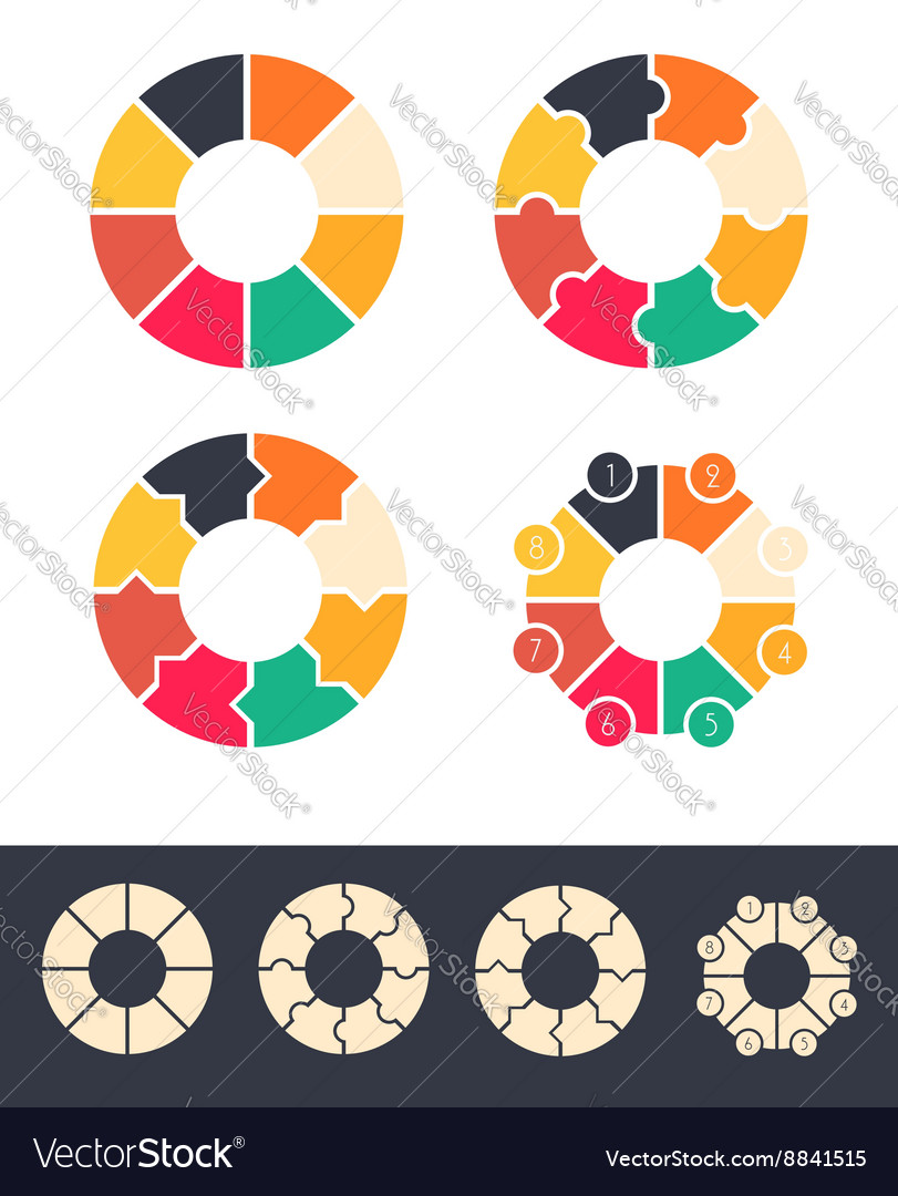 Circles infographic