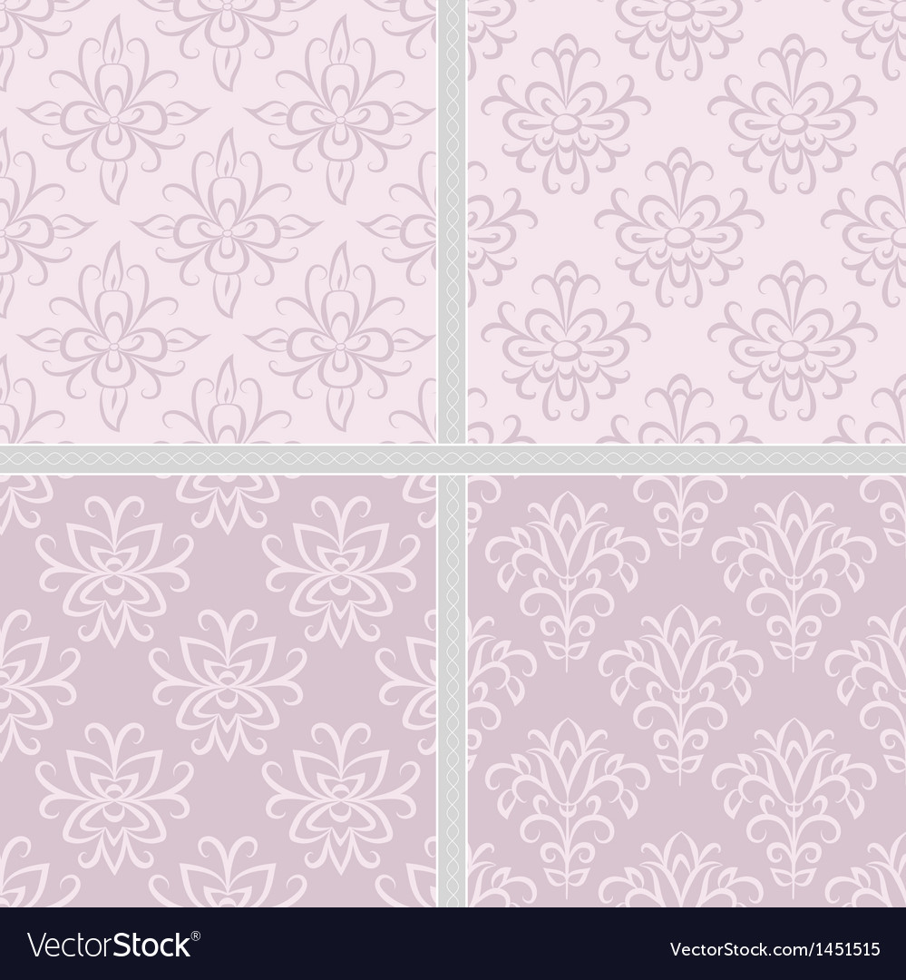Damask ethnic seamless textile pattern