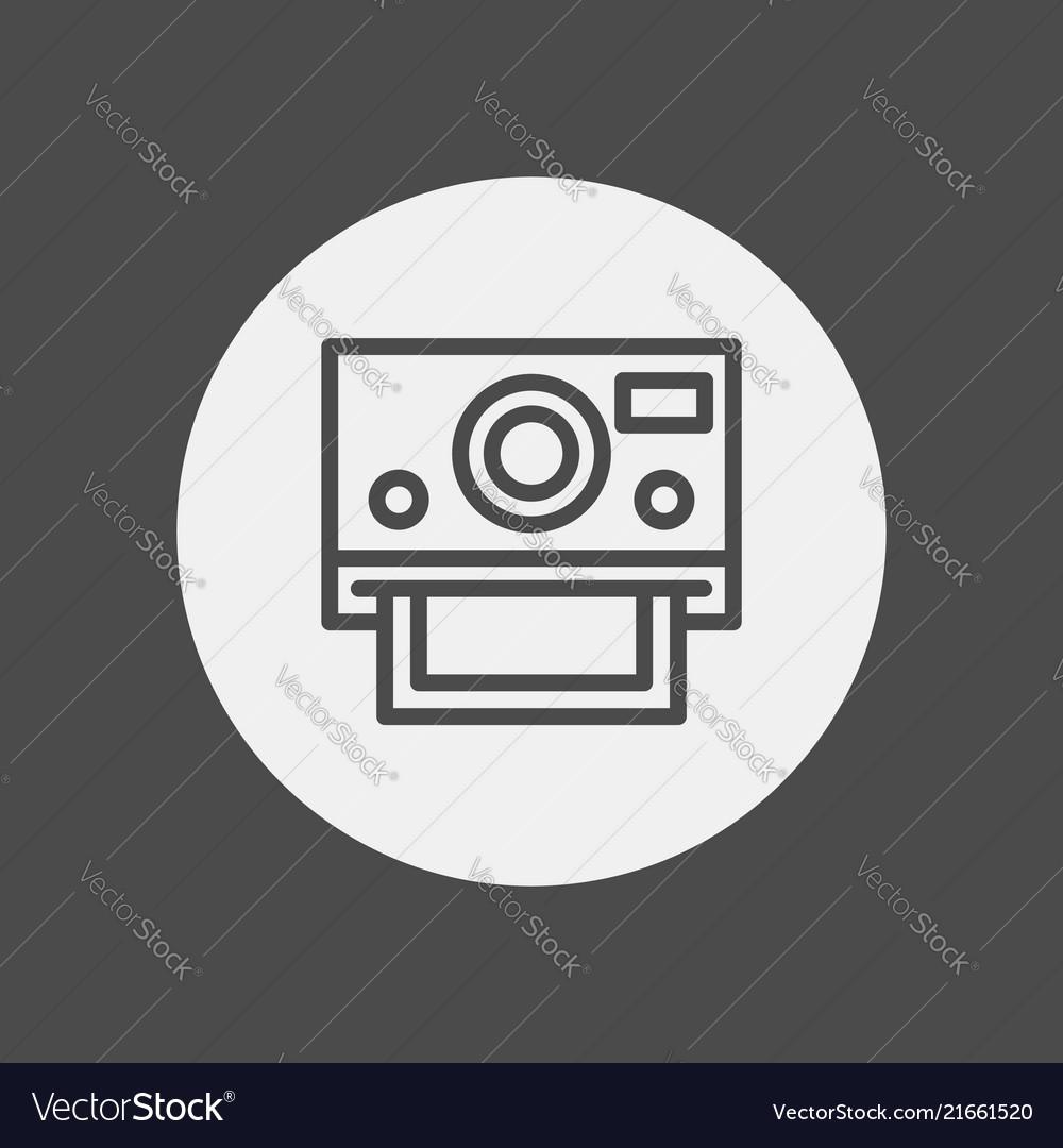 Camera icon sign symbol