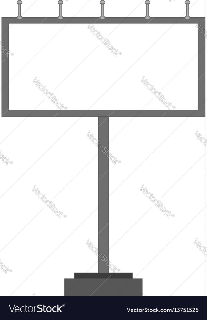 Blank big billboard mockup for your advertisement