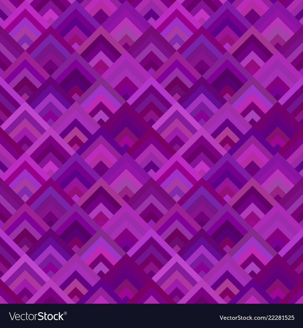 Purple abstract diagonal shape mosaic pattern