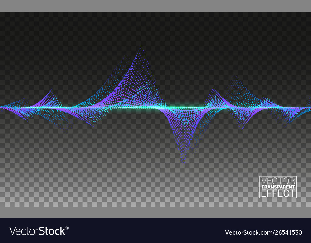 Abstract colorful wave big data lines flowing