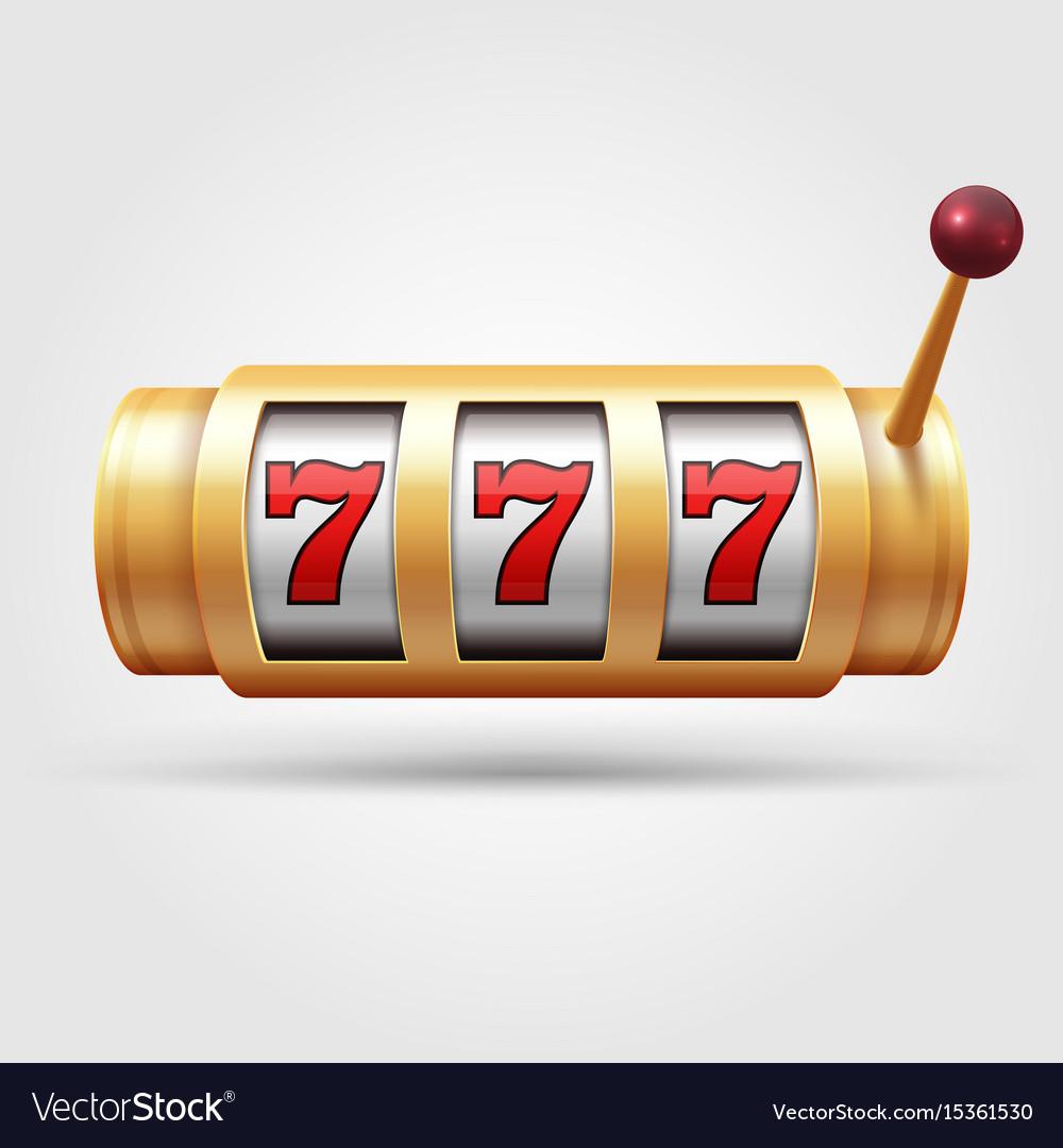 Casino slot machine 3d gambling reel lucky