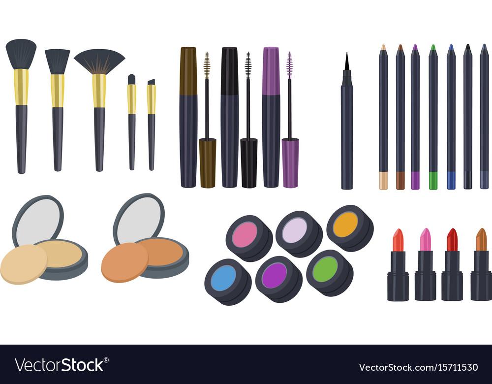 cosmetics clipart makeup clipart royalty free vector image rh vectorstock com makeup clipart gif makeup clipart lips