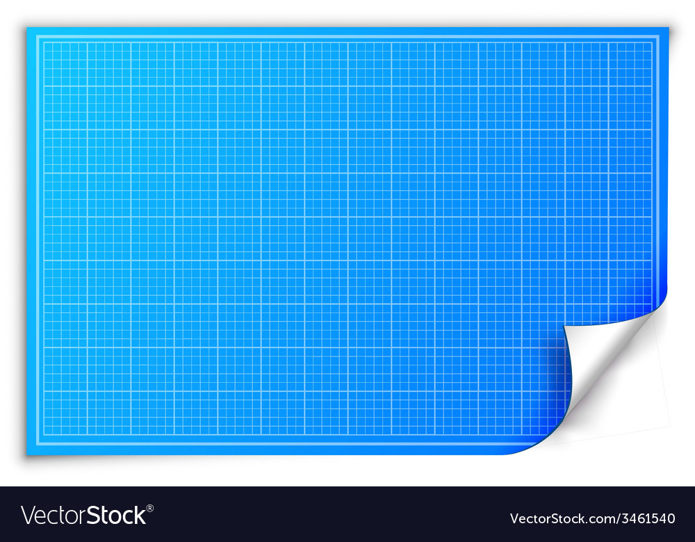 Architect blueprint paper background concept vector image malvernweather Gallery