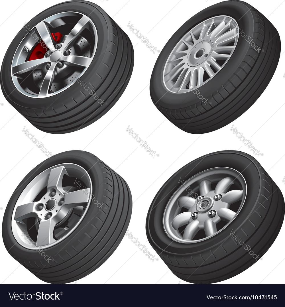 Automobiles wheels bundle