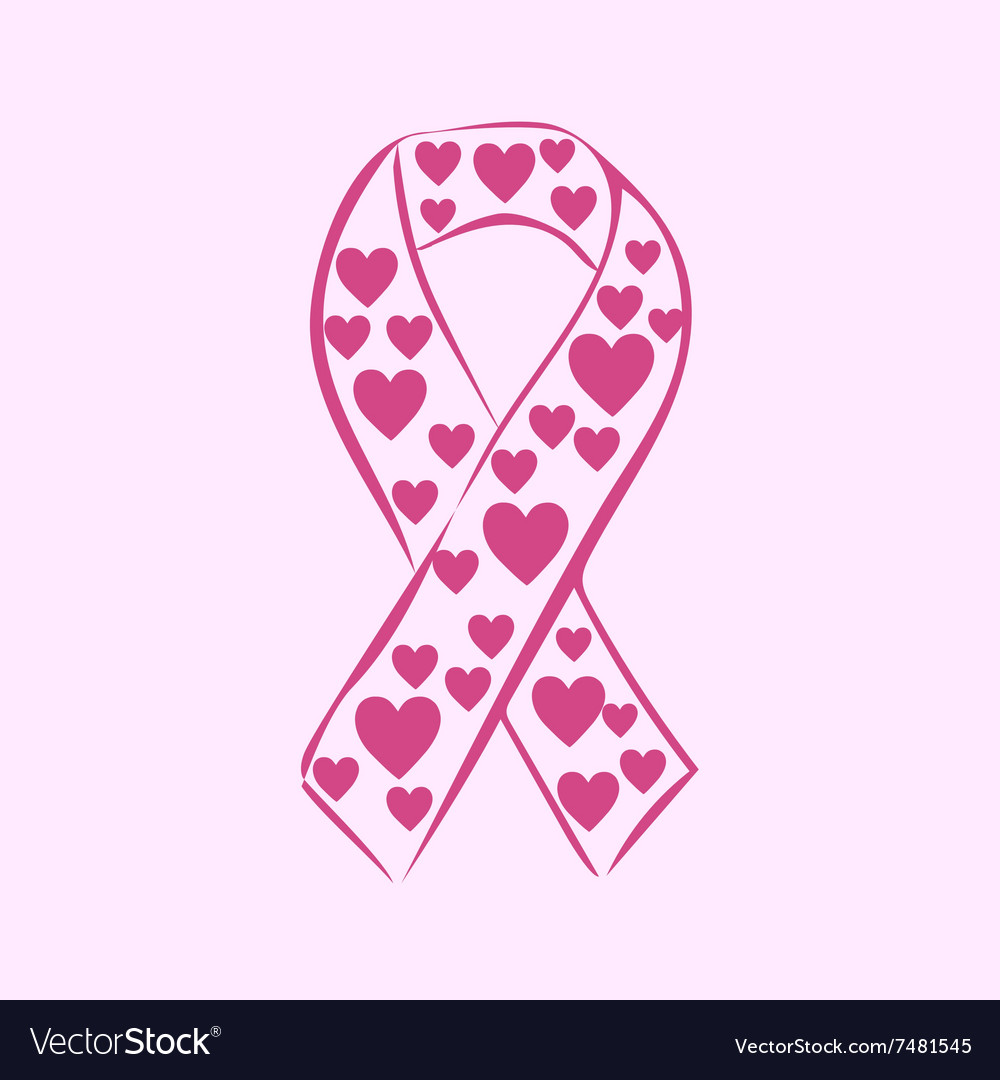 Pink Ribbon National Breast Cancer Awareness Month
