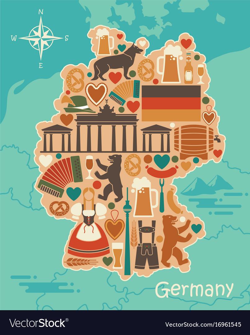 Картинки германия векторные