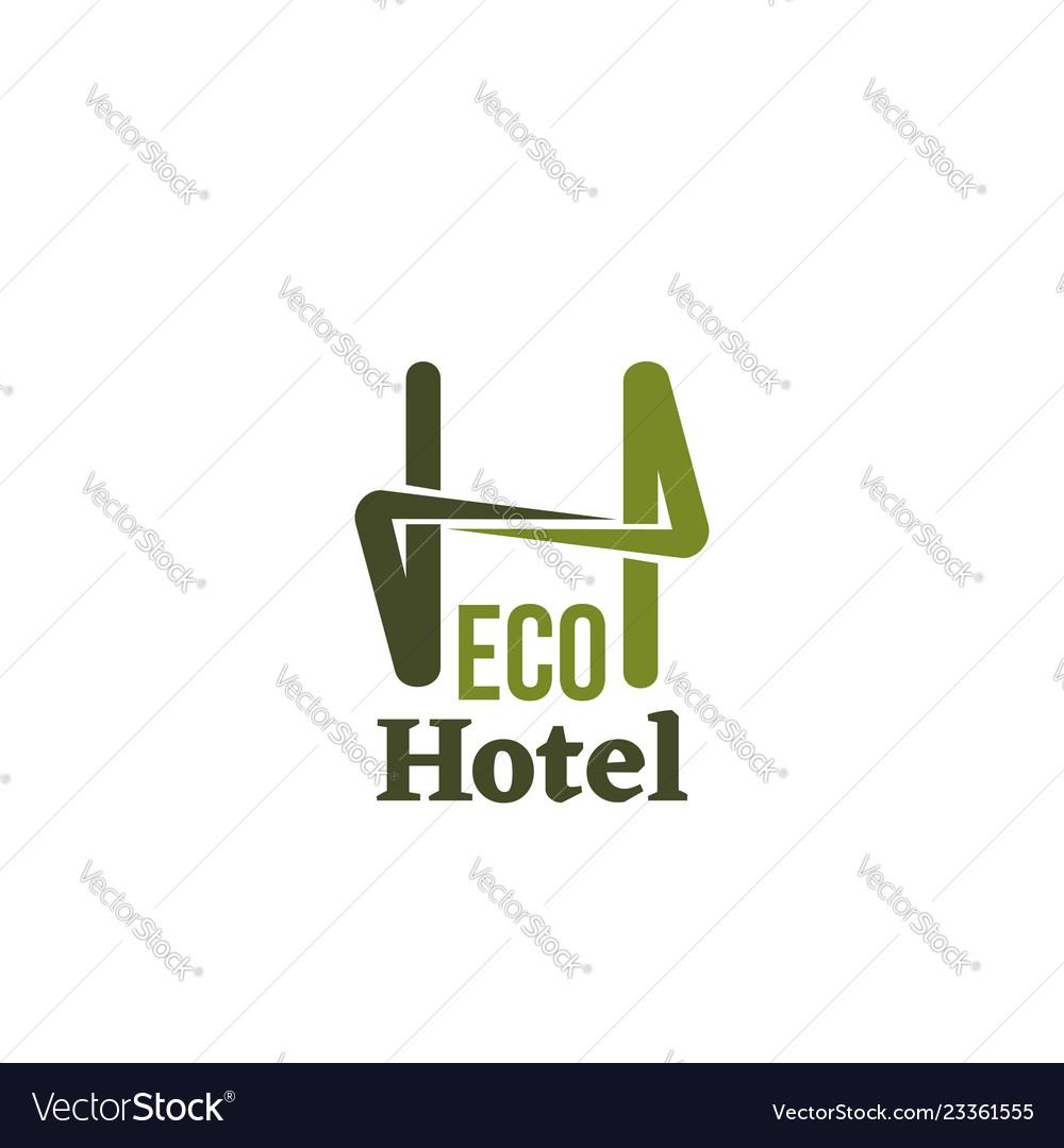 Eco hotel sign