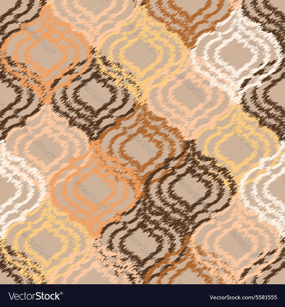 Ogee Fabric Seamless Background Royalty Free Vector Image