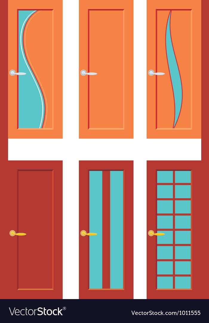 Set Of Doors For Rooms