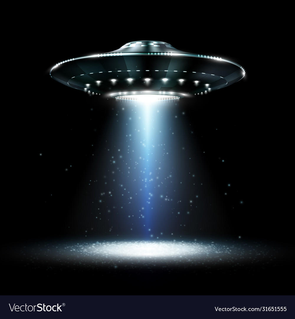 Ufo unidentified flying object futuristic