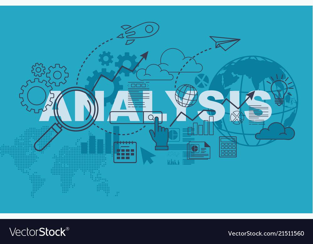 Analysis website banner concept