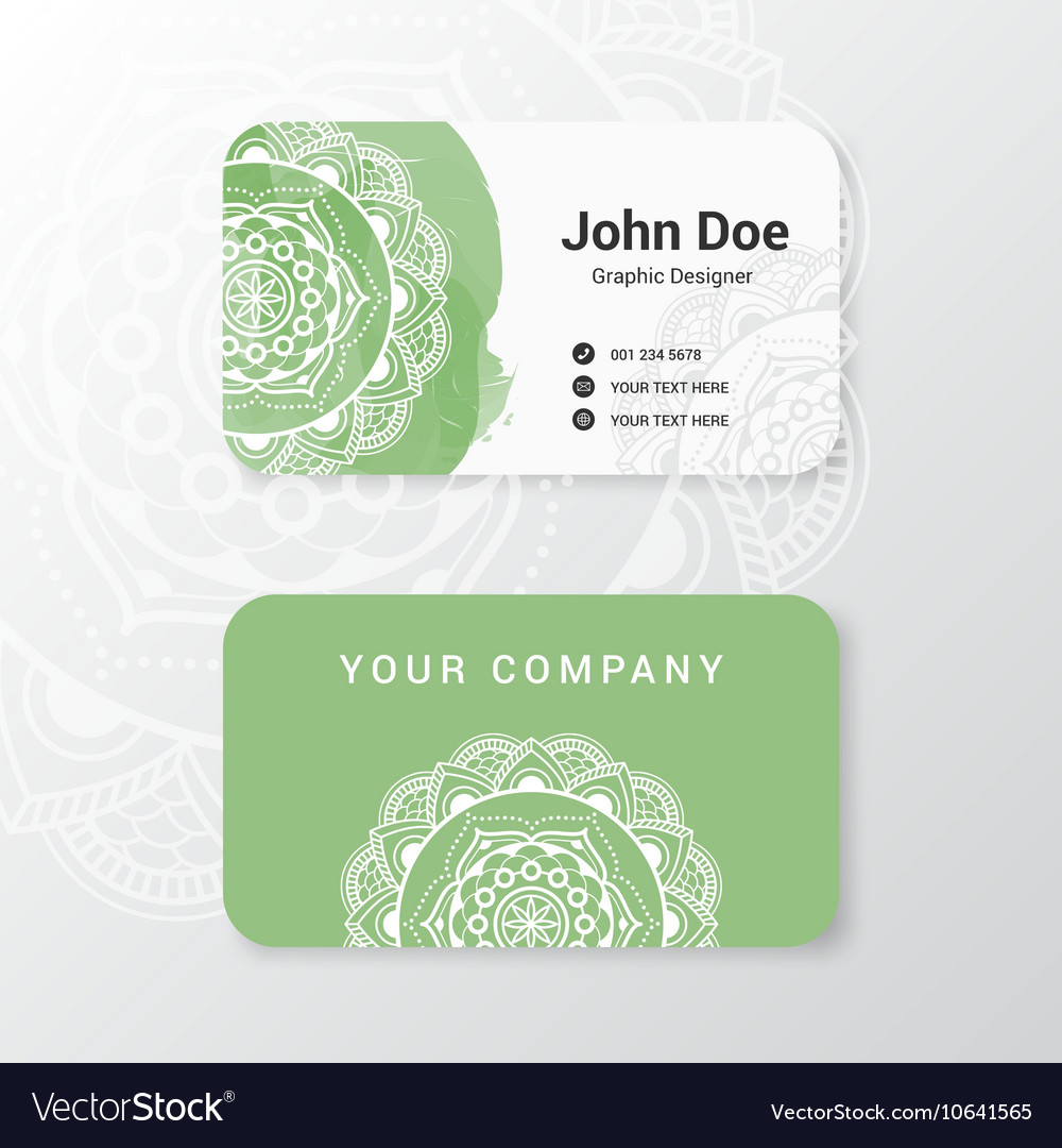 Business name card template design royalty free vector image business name card template design vector image accmission Image collections