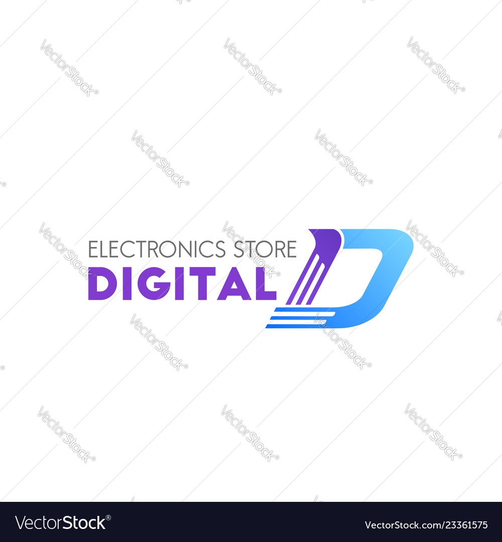 Digital electronic store sign