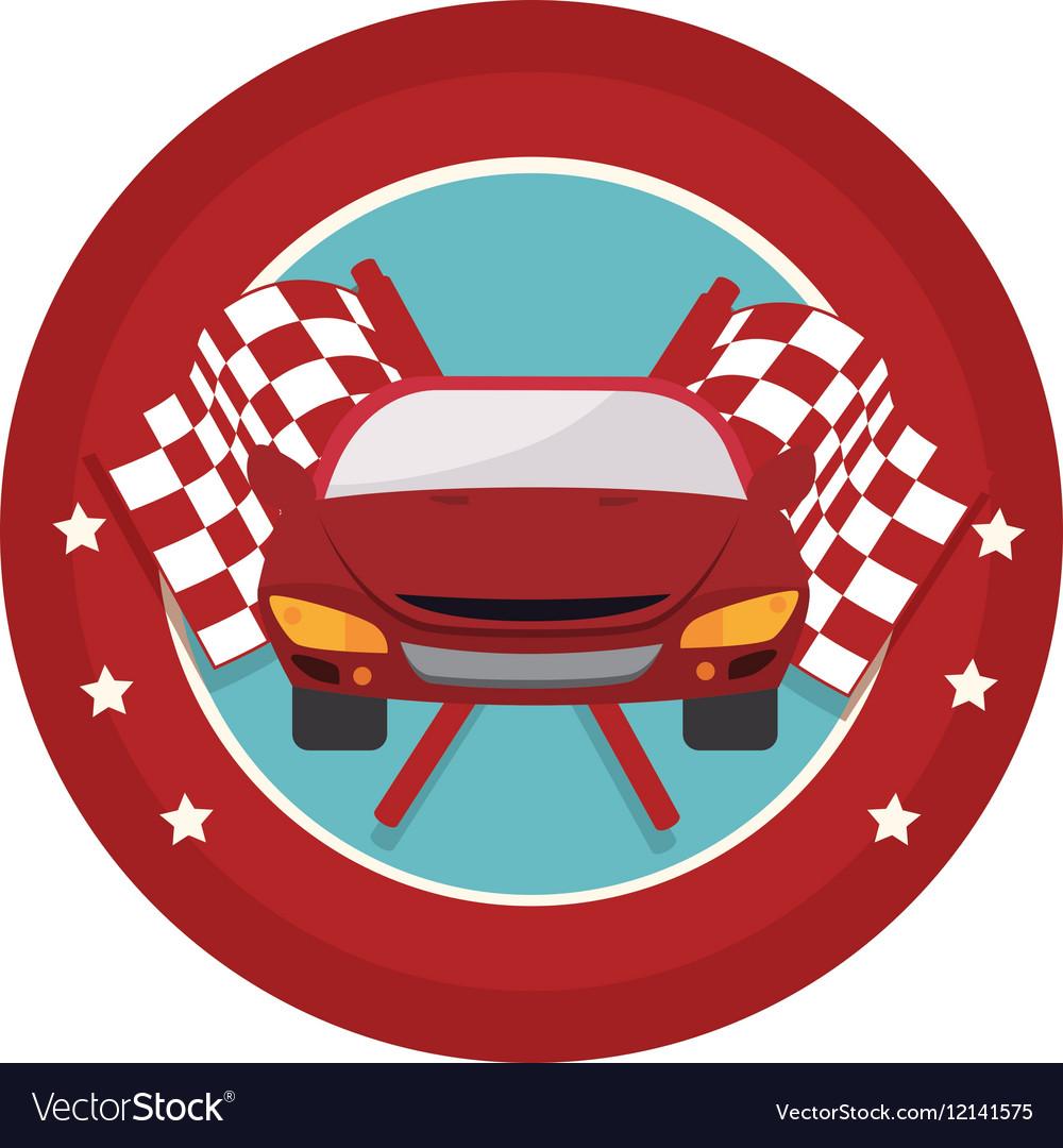 Tires car emblem icon