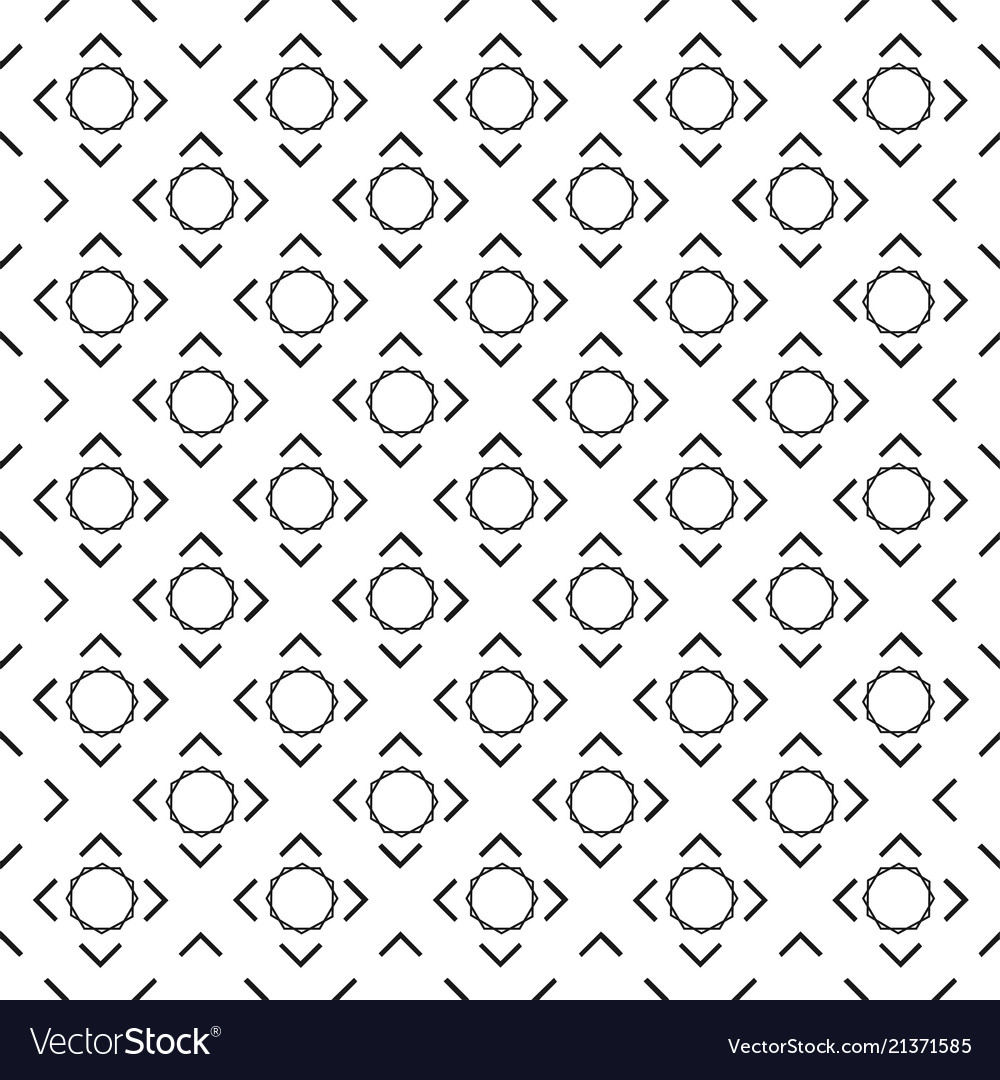 Abstract circle square white pattern image