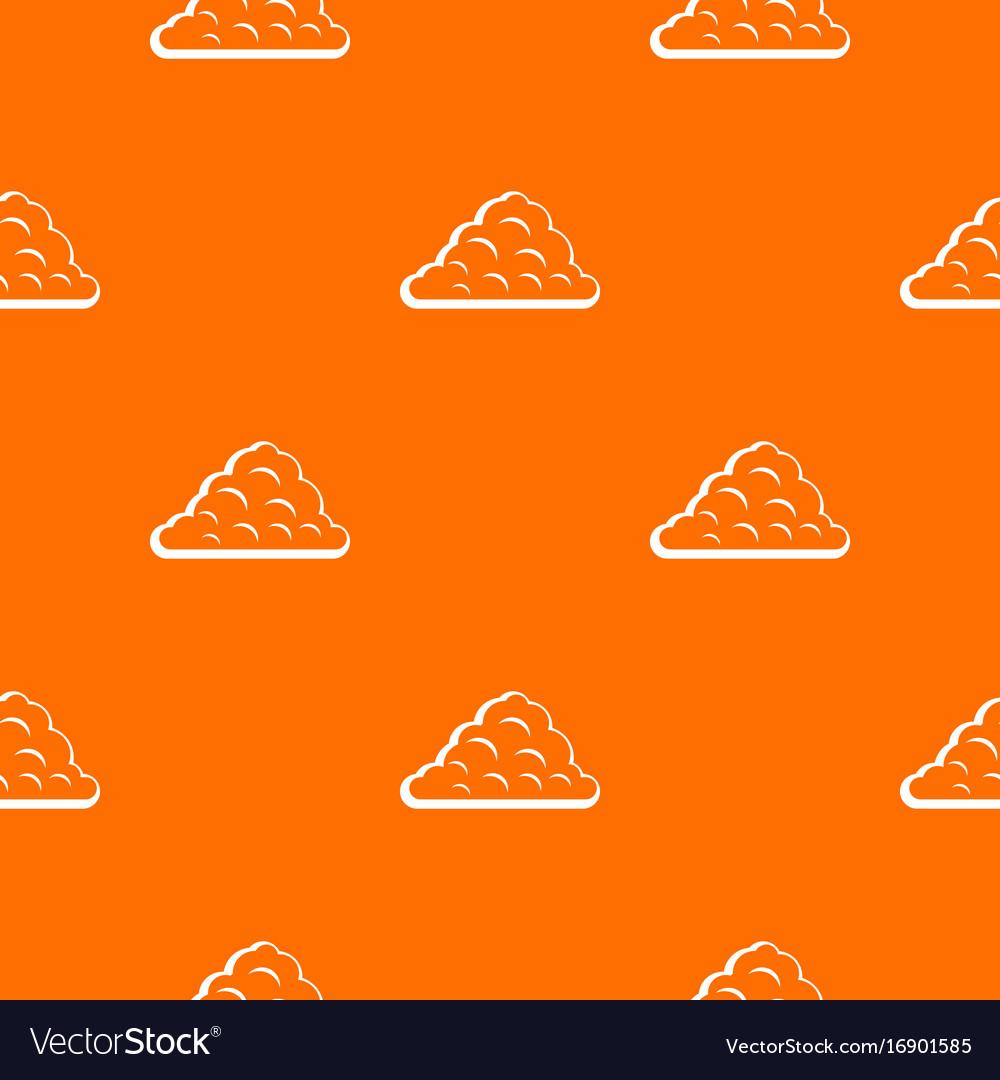 One cloud pattern seamless